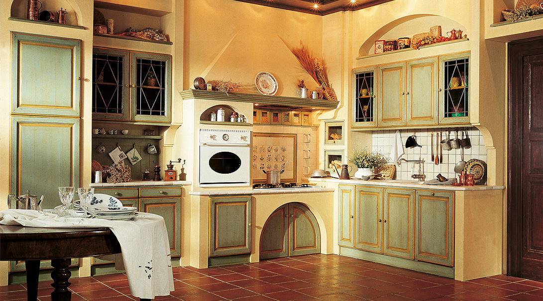 Mediterrane Landhauskuchen